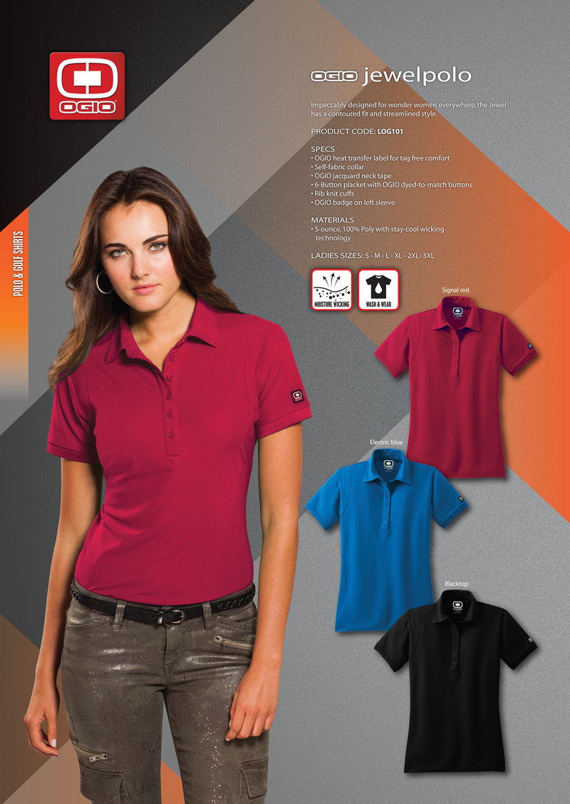 570b4eb7 Ogio Womens Pearl Polo Shirt – Rockwall Auction